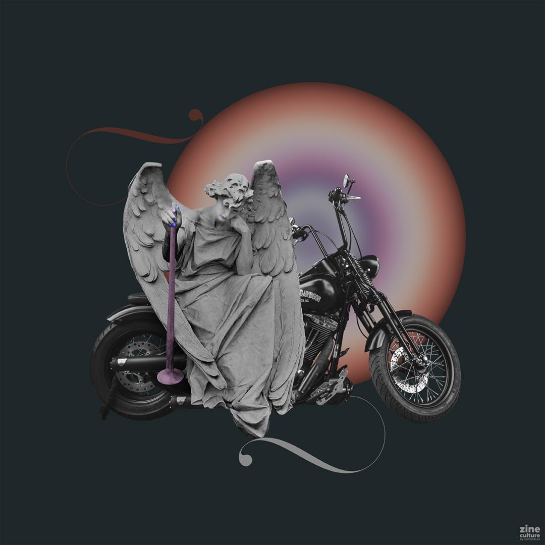 photo collage: easy rider
